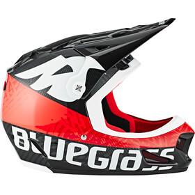 bluegrass Brave Fullface-Helmet black/red